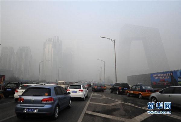 危害超PM2.5!臭氧袭击京津冀 今明空气质量转差