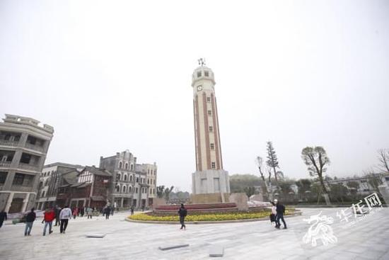 重庆两江国际影视城二期明年元旦开街 4种旅游