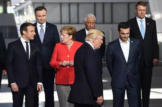 ▲特朗普与欧洲盟友的分歧越来越严重。(法新社)