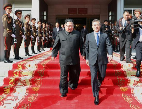韩媒:青瓦台计划说服金正恩出席联合国大会