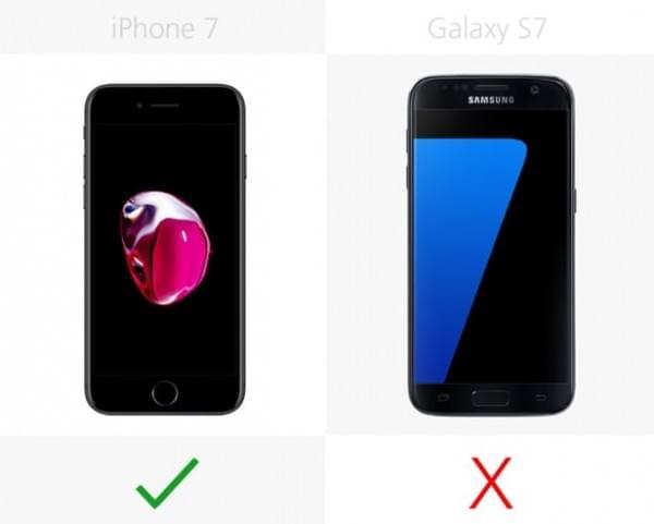 iPhone 7和Galaxy S7规格参数对比的照片 - 11