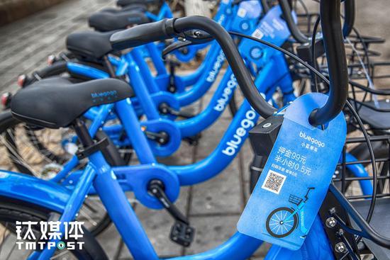 小蓝单车想做电子锁卖给共享单车企业