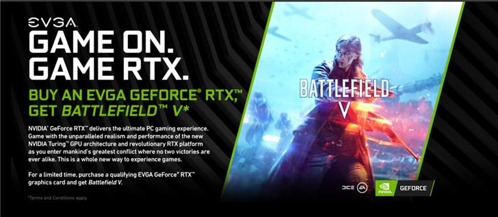 英伟达推买RTX 20显卡送《战地5》:国内地区未参与