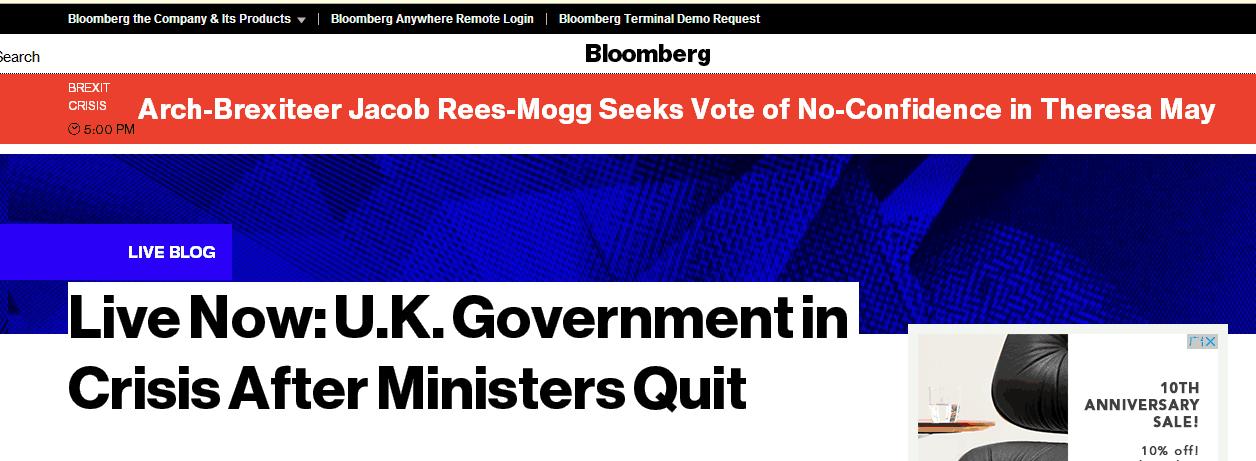 """保守党脱欧派领袖呼吁对英首相展开""""不信任""""投票"""