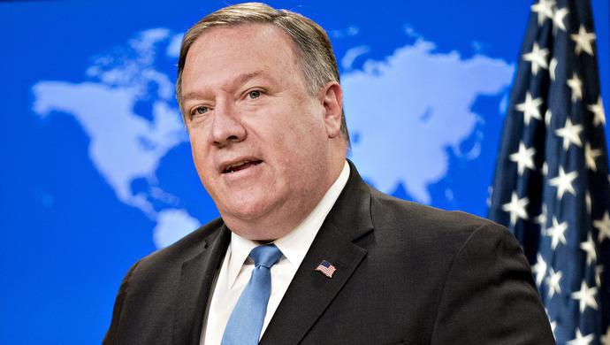 美国务卿蓬佩奥将于10月8日对中国进行访问
