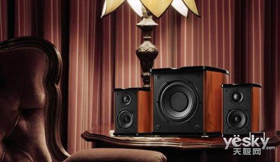 畅享休闲家庭影院 惠威m50w有源音箱低音强
