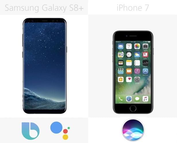 Galaxy S8+和iPhone 7规格参数对比的照片 - 31