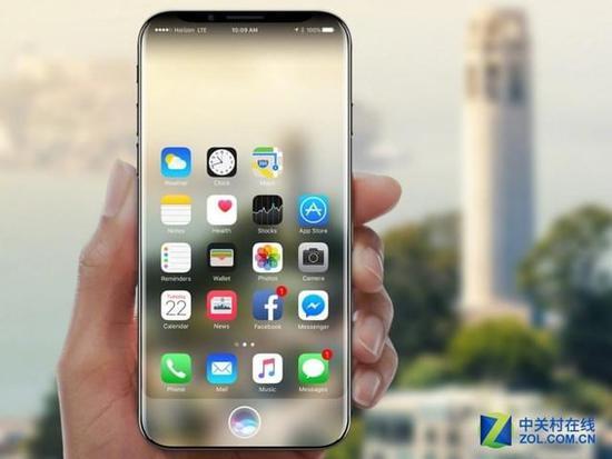 iPhone8新功能曝光!支持无线充电+防水
