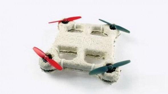 无人机领域大热 国外设计师又要造可食用机