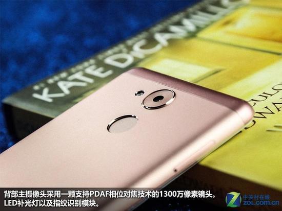 颜值更高粉色版已签到 华为畅享6S图赏