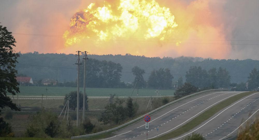 乌克兰一军火库爆炸 俄专家:或是掩盖盗卖武器手段