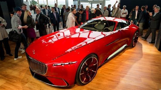 迈巴赫轿跑概念车 – Mercedes-Maybach 6实拍的照片 - 2