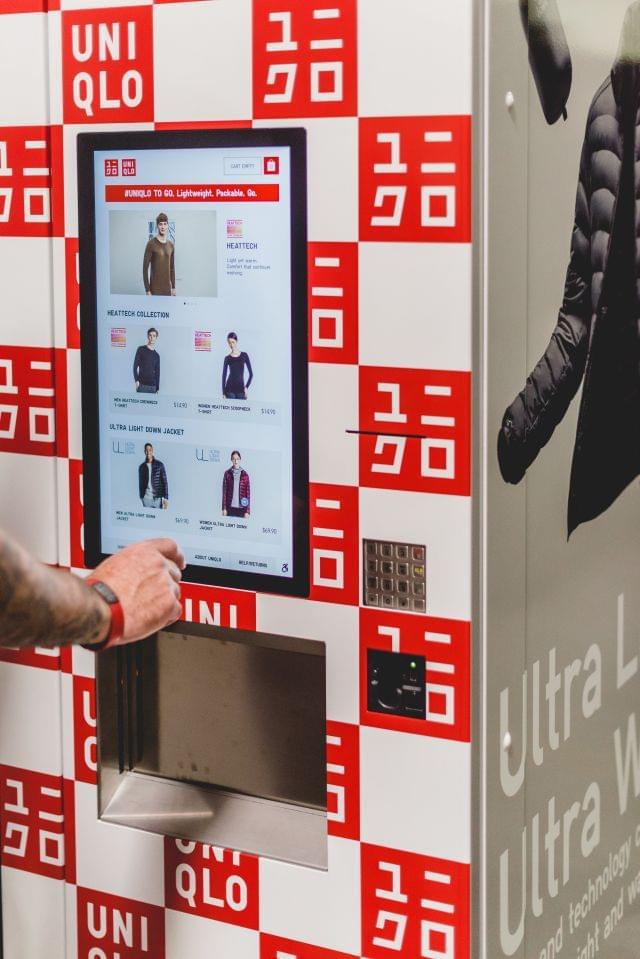 优衣库推出服装自动贩卖机,你想来一件吗?