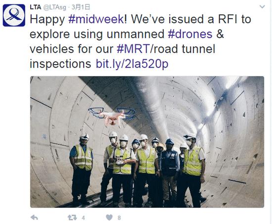新加坡将用无人驾驶车辆监察铁路隧道-第2张图片-零帕网