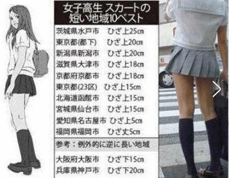 日本女生裙子最短地区:这么短真的好吗?_网易新闻