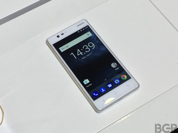 Nokia 3和Nokia 5现场真机上手的照片 - 4
