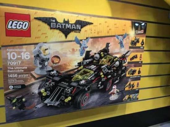 《乐高蝙蝠侠大电影》系列玩具来袭