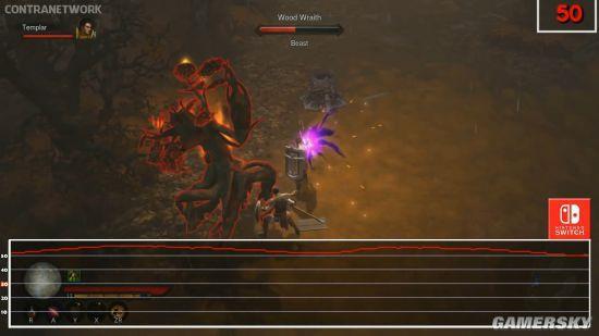 Switch版《暗黑破坏神3》帧数测试 基本稳定60帧