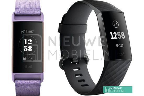 Fitbit Charge 3运动手环谍照曝光:IFA上将发布