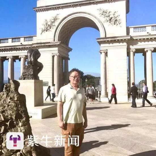 [美国旧金山的华人社会活动家杨海平]
