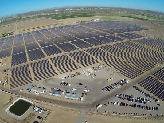 苹果秘密的太阳能项目将为亚利桑那州12500个家庭供电
