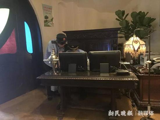 长宁市场监管局介入调查。李若楠摄