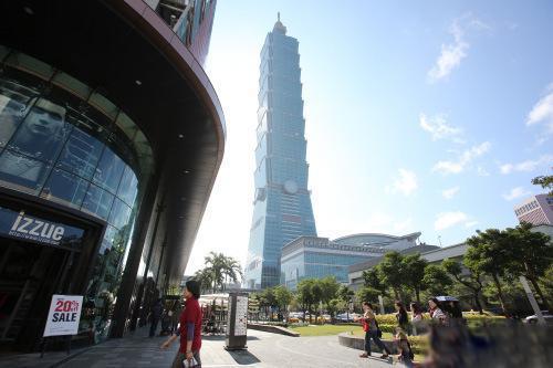 台北101大楼(来源:台湾媒体)