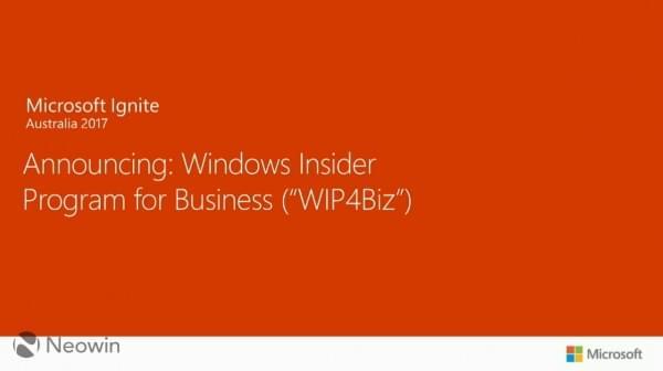 企业版Windows Insider项目即将上线的照片 - 1