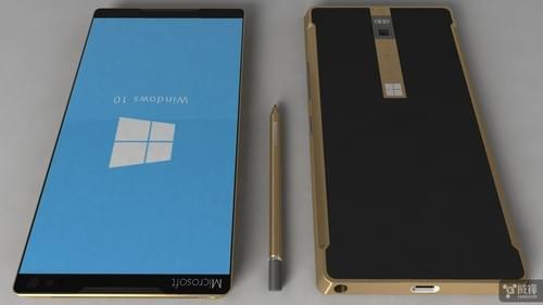Surface概念手机曝光:可变身PC主机/自带保护壳