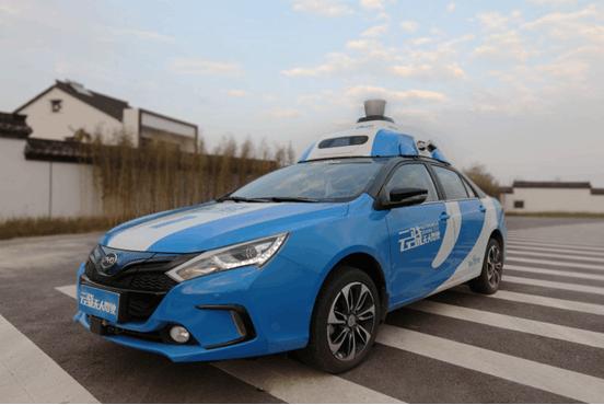百度无人车在乌镇开展 国内首次开放城市道路运营的照片 - 4