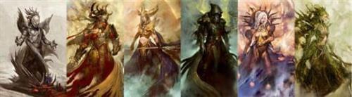 神圣泰瑞亚 《激战2》揭秘传说中的六真神