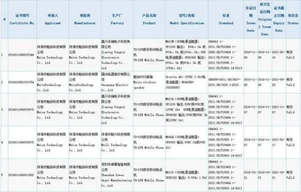 魅蓝Note 5新机现身:Helio P10+3G内存的照片 - 2