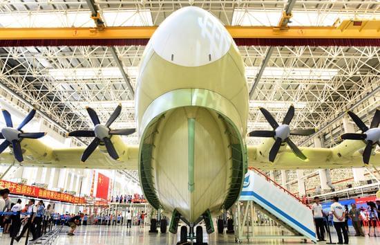中国最特殊大飞机总装下线