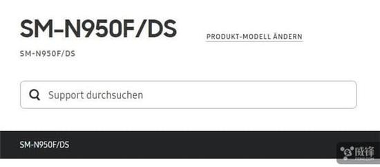 三星Note8拥有双卡双待版本:产品支持页面曝光