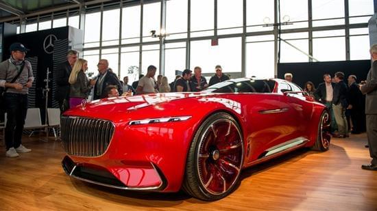 迈巴赫轿跑概念车 – Mercedes-Maybach 6实拍的照片 - 1