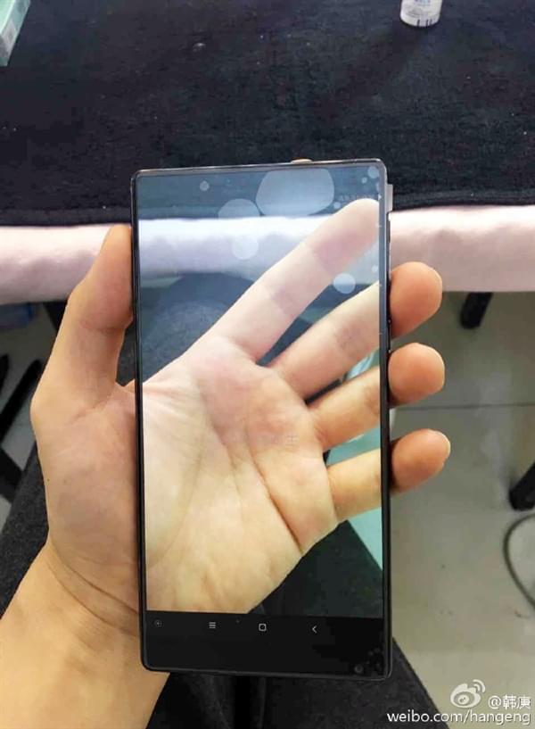 韩庚晒小米MIX:这个手机玩法有点酷的照片 - 2