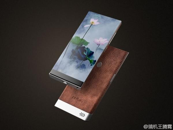 努比亚滑盖无边框手机概念图亮相的照片 - 5