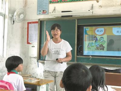陈锡清在课堂上