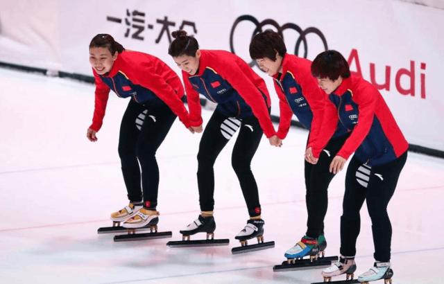 中国短道速滑接力夺金 韩国队:对比赛结果很失望