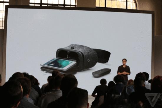 谷歌发布VR眼镜Daydream View:售79美元