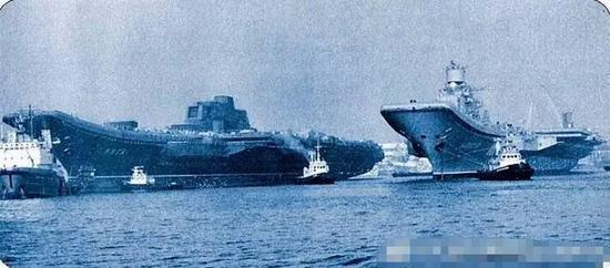 ▲曾经的黑海造船厂