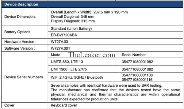 三星Galaxy TabPro S2曝光:7代i5+2K触屏的照片 - 7