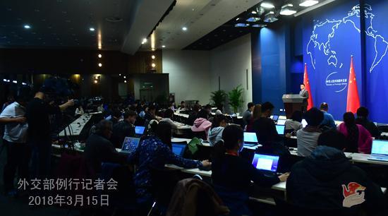 中国外交部:做大合作蛋糕处理贸易摩擦