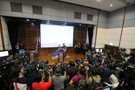 马来西亚警方:11人合谋杀金正男4人落网7人在逃