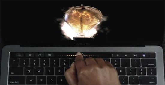 苹果Touch Bar只是过渡 没啥实际用处