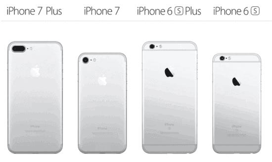 足的苹果iphone7