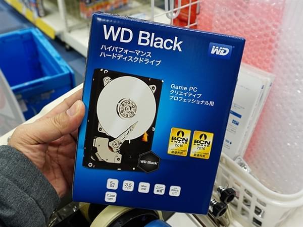 西数6TB黑盘升级版悄然开卖:更快,更省电的照片 - 1