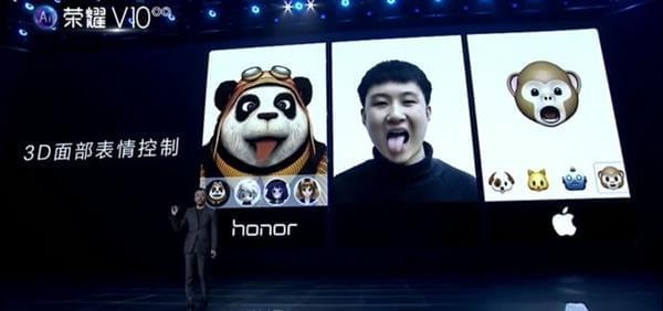 荣耀V10v图片FaceID图片让iPhoneX情何以堪大小发到表情信微配件表情包怎么动画包图片