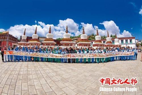 《中国文化人物》深度报道唐卡艺术大师桑杰本