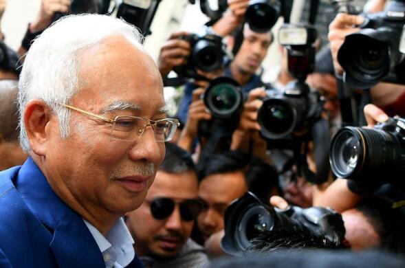 马来西亚前总理纳吉布获准保释 保释金164万